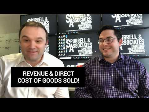 Revenue & Direct Cost of Sales