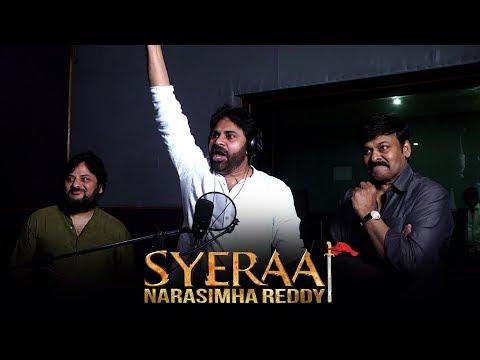 Pawan Kalyan Voice Over For Sye Raa Teaser