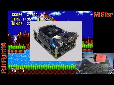 MiSTer (FPGA): Boots into Linux from core menu - смотреть онлайн на
