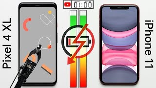 Google Pixel 4 XL vs Apple iPhone 11 Battery Test