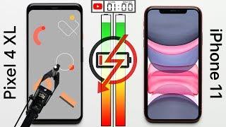 Google Pixel 4 XL vs Apple iPhone 11 Battery Test