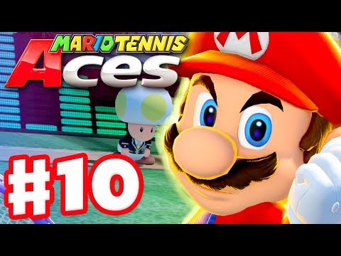 Mario Tennis Aces Walkthrough - Part 8 - ZackScottGames Vs  Abdallah