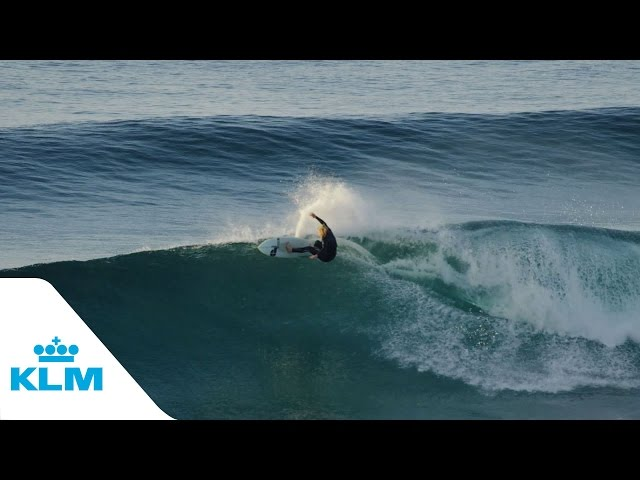 KLM Surf trailer - Go surfing with KLM (4K quality)