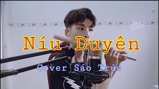NÍU DUYÊN - LÊ BẢO BÌNH - Sáo Trúc Việt Anh Cover