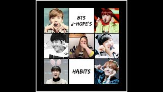 EXO L Reacts To BTS   J Hope Habits