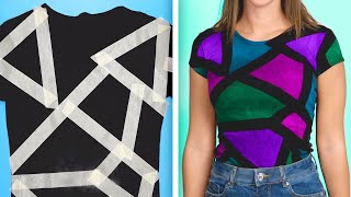 39 Colorful Fashion Hacks FOR YOUR BORING CLOTHES