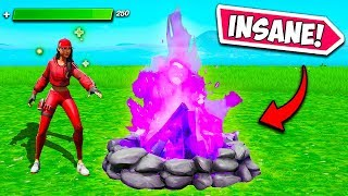 *NEW* MEGA CAMPFIRE IS INSANE!! - Fortnite Funny Fails and WTF Moments! #748