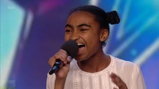 Britain's Got Talent 2016 S10E04 Jasmine Elcock A True Teen Singing Superstar Full Audition - Video Youtube