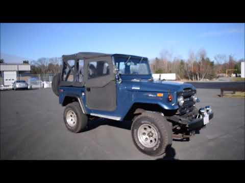 Video of '72 Land Cruiser FJ - P1VI