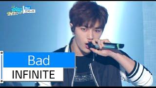 [HOT] INFINITE - Bad, 인피니트 - 베드, Show Music core 20151226