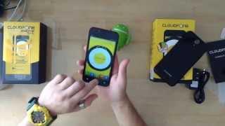 CloudFone Excite 502q Unboxing Hands-On Video | Taragis.Com