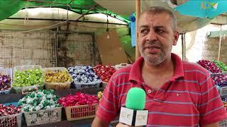 ما هي استعدادات محلات الحلويات في العيد؟