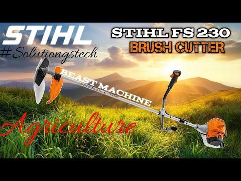 Stihl 2 Stroke Brush Cutter