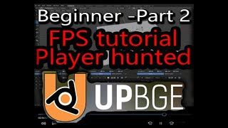 Upbge FPS tutorial Part 2 - enemy hunt the player