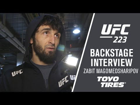 "UFC 223: Zabit Magomedsharipov – ""I Had to Change the Game Plan During the Fight"""