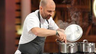 Jak zrobić mistrzowskie danie z jajka i grzybów - Masterclass z Georgem Calombarisem [ Masterchef ]