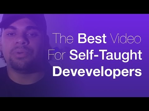 Liked on YouTube: The best video for self-taught developers