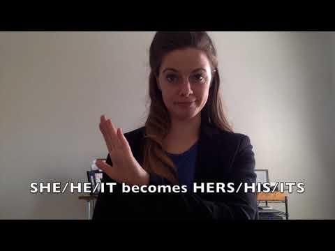 ASL Pronoun Video
