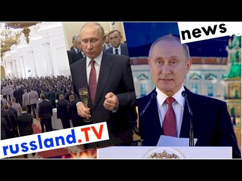 Kandidat Putin im Termin-Marathon [Video]