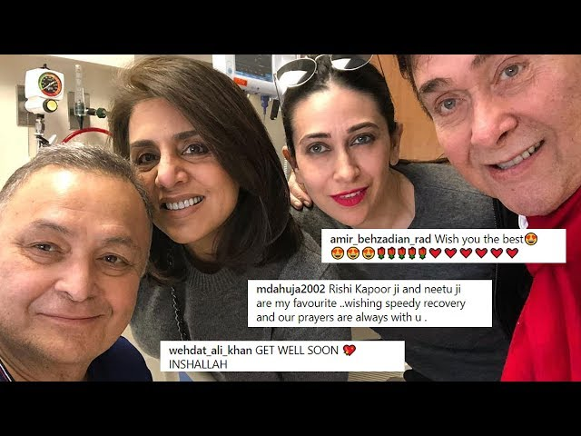Rishi Kapoor's New Photo From Hospital | Fans Pray For His RECOVERY