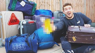 I Won Tihs from a Lost Luggage Auction & It's Actually Unbelievable!