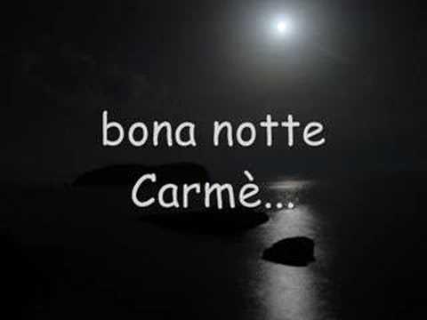Significato della canzone Buona notte carmè di Gigi Finizio
