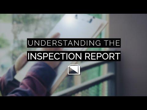 Understanding the Inspection Report