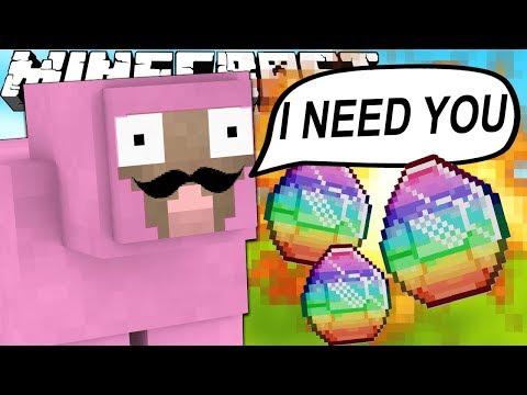 PINK SHEEP NEEDS YOUR HELP (Minecraft)