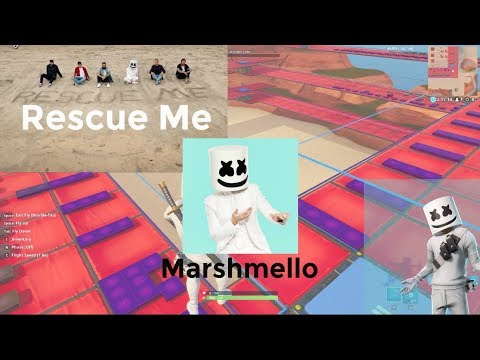 Marshmello - Rescue Me ft. A Day To Remember (Fortnite Music Blocks Remake)