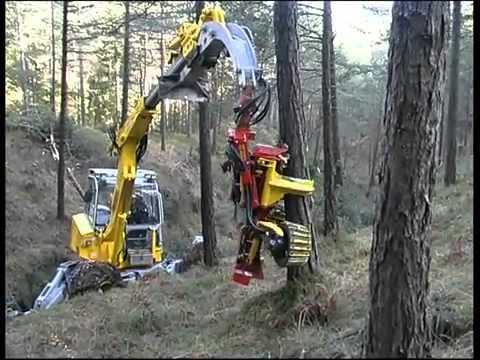 آلة تقطيع  الاشجار من الألف إلى الياء