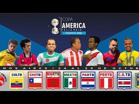 العرب اليوم - شاهد: كوبا أميركا لقصار القامة بالأرجنتين والمغرب ضيف الشرف