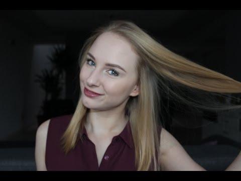 Ludowym długie włosy