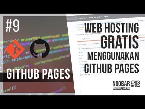 #9 GITHUB PAGES / NGOBAR#12 : Web Hosting Gratis dengan GitHub Pages