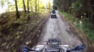 preview picture of video 'Quad Tour im Erzgebirge'