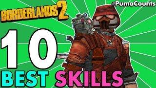 Top 10 Best Character Skills in Borderlands 2 (Redux) #PumaCounts