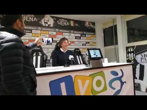 Robur Siena-Pontedera 2-0, Coppa Italia: Dal Canto