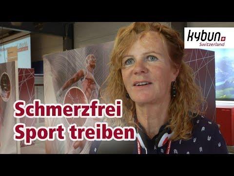 Schmerzfrei Sport treiben dank kybun Schuh