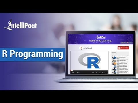 R Programming Tutorial [2018] | R Language Tutorial | R Tutorial | Intellipaat