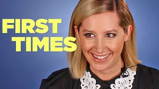 Ashley Tisdale Tells Us About Her First Times