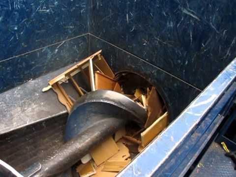 Trash Compactor Auger
