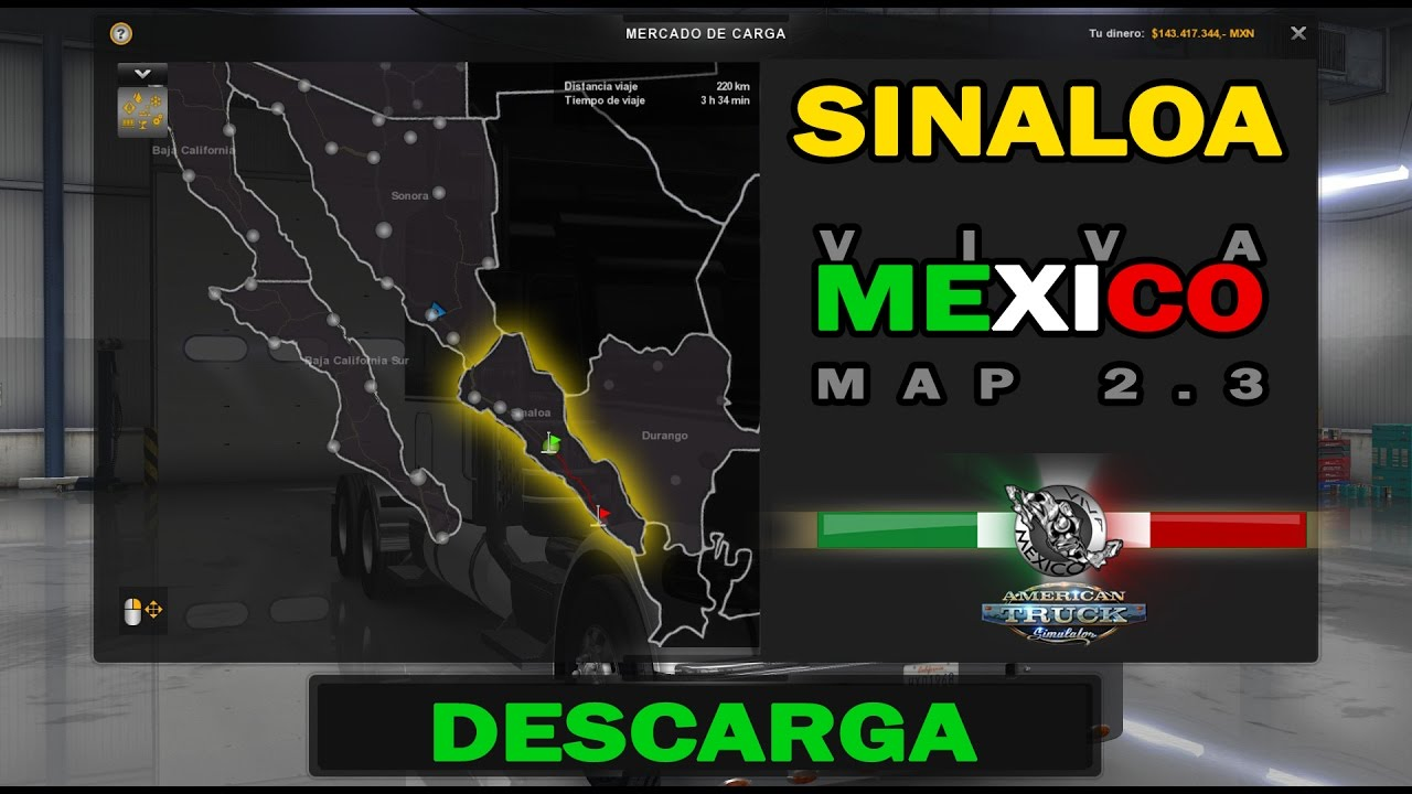 Video Reviews Viva Mexico Map 23 SINALOA