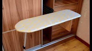 Homemade Mounted Ironing Board