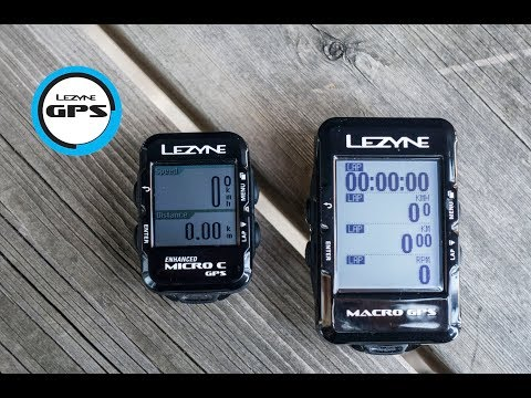 Видео о Компьютер Lezyne Macro GPS HR Loaded черный 4712805 987276