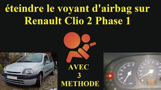 download video tuto r parer le probl me du voyant d 39 airbag kangoo how repair airbag warning. Black Bedroom Furniture Sets. Home Design Ideas