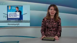 Szentendre Ma / TV Szentendre / 2021.03.25.
