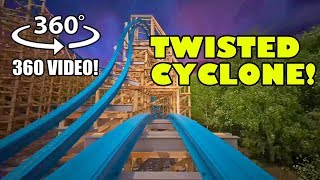 Twisted Cyclone VR 360 Degree POV - Six Flags Over Georgia New for 2018