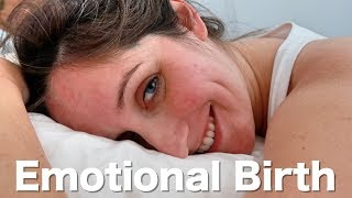 Give Birth At Home Naturally   Emotional Birth Vlog (Normal Delivery Of Baby Atlas)