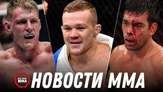 Пётр Ян ярко дебютировал в UFC, Мачида переходит в Bellator, Нокауты и результаты #UFCSingapore