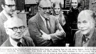 The Story of the RCA Synthesizer