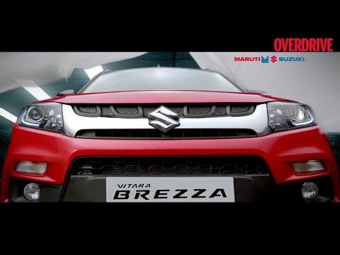Vitara Brezza exterior details revealed - 2016 Auto Expo
